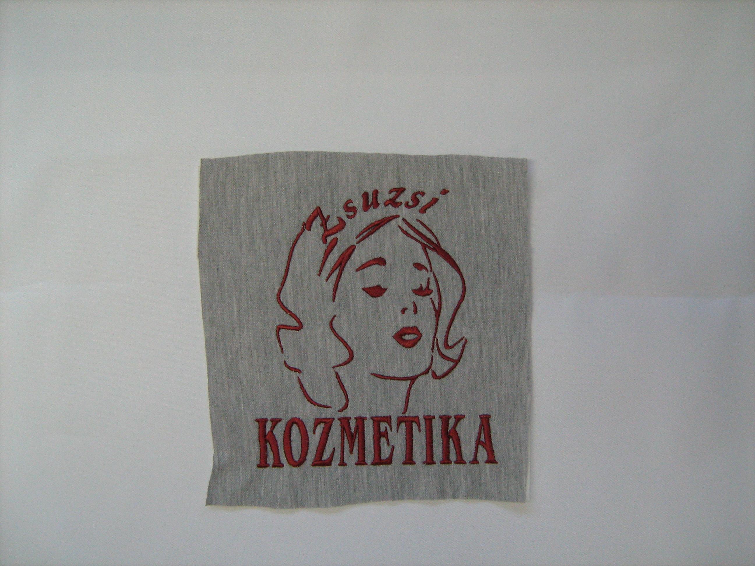 hímzett logó 5